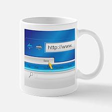 Web Page Browser Mug