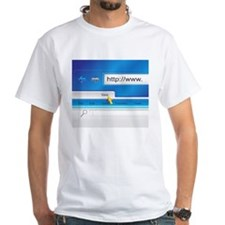 Web Page Browser T-Shirt