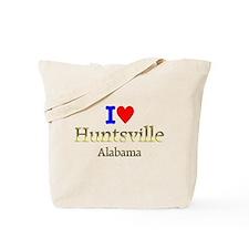 I Love Huntsville Alabama 1 Tote Bag