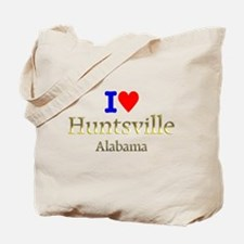 I Love Huntsville Alabama 1 Tote Bag