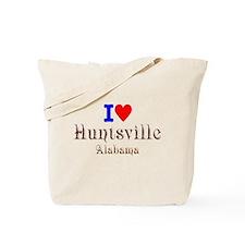 I Love Huntsville Alabama 2 Tote Bag