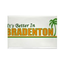 It's Better in Bradenton, Flo Rectangle Magnet