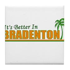 It's Better in Bradenton, Flo Tile Coaster