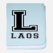 Laos Designs baby blanket