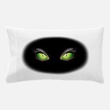 Cat Green Eyes Pillow Case