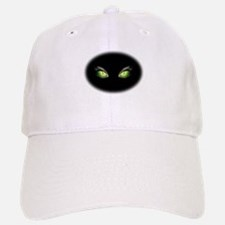 Cat Green Eyes Baseball Baseball Baseball Cap