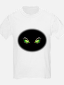 Cat Green Eyes T-Shirt