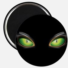 Cat Green Eyes Magnet