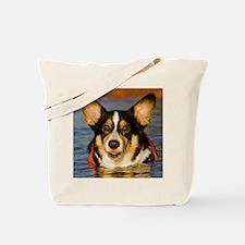 Cute Corgi Tote Bag