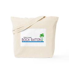 Visit Scenic Boca Raton, Flor Tote Bag