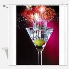 First Martini Shower Curtain