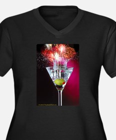 First Martini Plus Size T-Shirt
