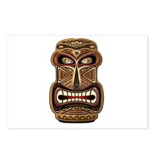 Africa Ethnic Mask Totem Postcards (Package of 8)