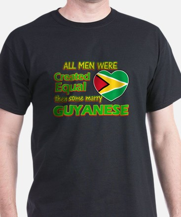 Guyanese wife designs T-Shirt