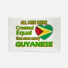 Guyanese wife designs Rectangle Magnet