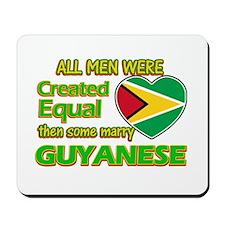 Guyanese wife designs Mousepad