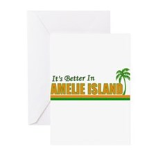 It's Better in Amelie Island, Greeting Cards (Pack