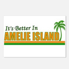 It's Better in Amelie Island, Postcards (Package o