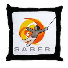 GO SABER Throw Pillow