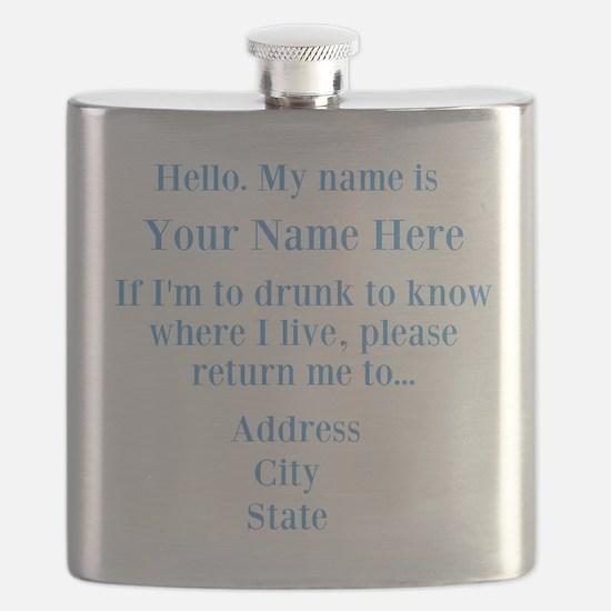 Drinking Shirt Flask