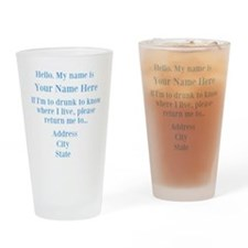 Drinking Shirt Drinking Glass