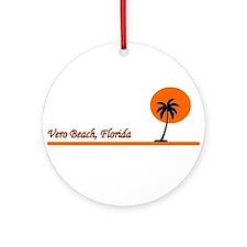 Vero Beach, Florida Ornament (Round)
