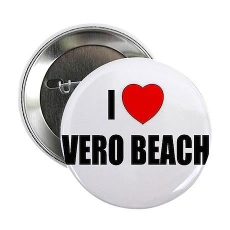 I Love Vero Beach, Florida Button