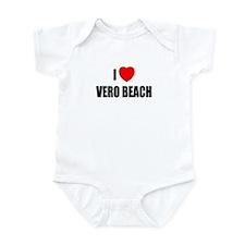 I Love Vero Beach, Florida Infant Bodysuit