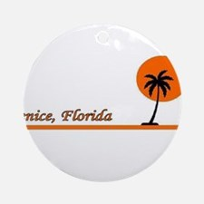 Venice, Florida Ornament (Round)