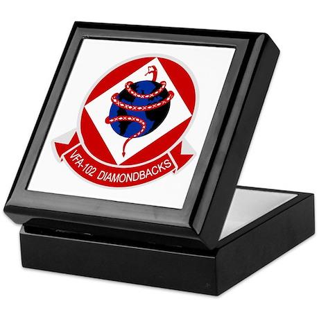 VFA-102 DIAMONDBACKS Keepsake Box
