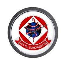 VFA-102 DIAMONDBACKS Wall Clock