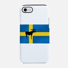 Sweden Elk / Moose Flag iPhone 7 Tough Case