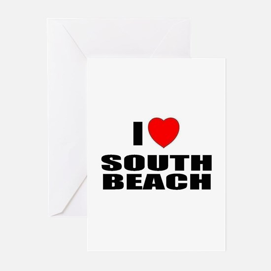 I Love South Beach, Florida Greeting Cards (Packag