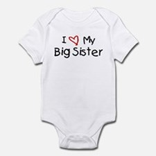 I Love My Big Sister Onesie