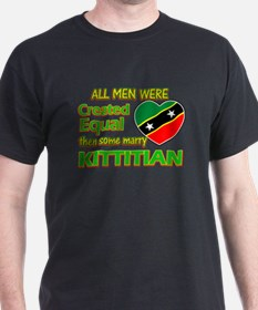 Kittitian wife designs T-Shirt