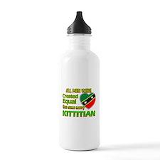 Kittitian wife designs Water Bottle