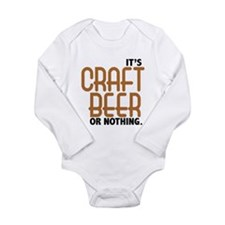 Craft Beer or Nothing Body Suit