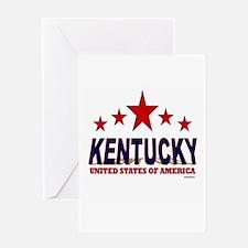 Kentucky U.S.A. Greeting Card