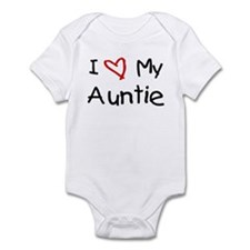 I Love My Auntie Infant Bodysuit