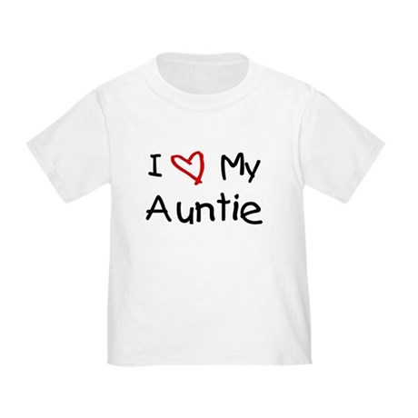 I Love My Auntie Toddler T-Shirt