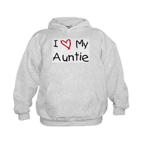 I Love My Auntie Kids Hoodie