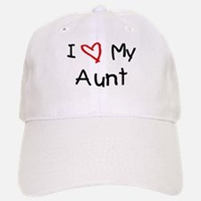 I Love My Aunt Baseball Baseball Cap