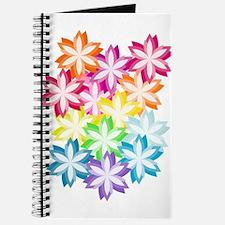 2013_08_27 - rainbow Flowers Journal