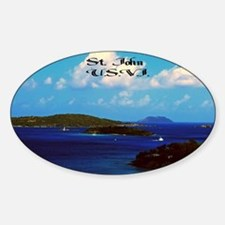 Saint  John Sticker (Oval)