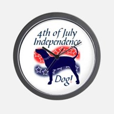 Independence Coonhound Wall Clock
