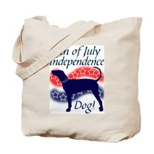 Independence Coonhound Tote Bag