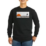 Singer Island, Florida Long Sleeve Dark T-Shirt