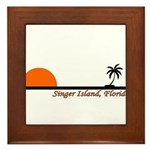 Singer Island, Florida Framed Tile