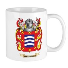 Marinello Coat of Arms - Family Crest Small Mugs