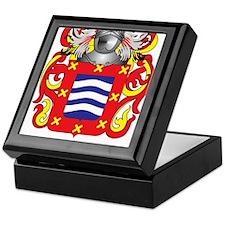 Marinello Coat of Arms - Family Crest Keepsake Box